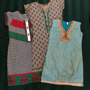 ✨Beautiful✨ dresses/long shirts From India